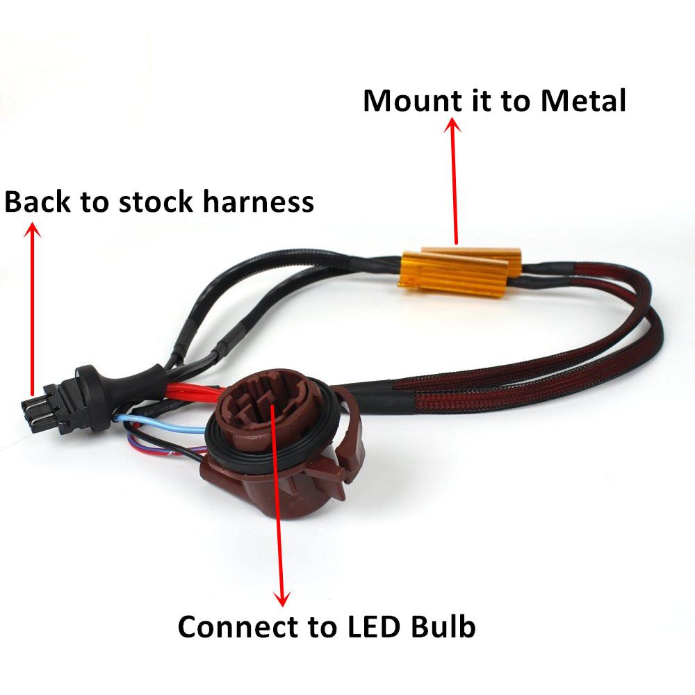 How To Solve Turn Signal Light Hyper Flash Jdm Astar Blog Led Resistor Wiring Diagram Bulb