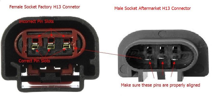 how to fix f150 headlight power issue jdm astar blog rh jdmastarblog com H13 Headlight Wiring H13 Headlight Wiring