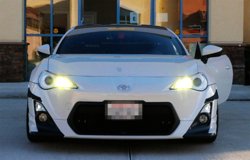 Using aftermarket LED headlights on Toyota's with DRL/High